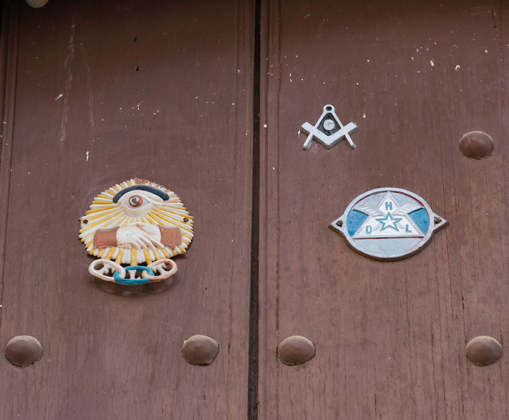 freemason symbols are used for communication