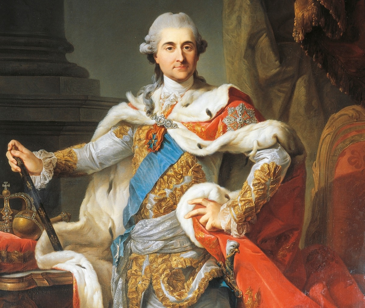 Portrait of Stanisław August Poniatowski King of Poland and lover of Catherine the Great