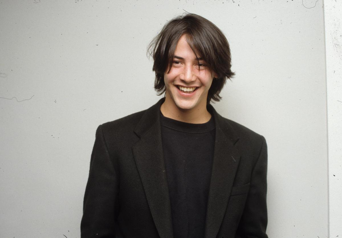Keanu Reeves fresh faced