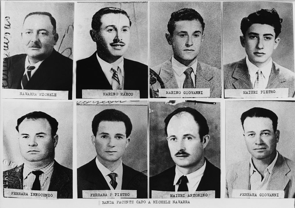 Images of mobsters