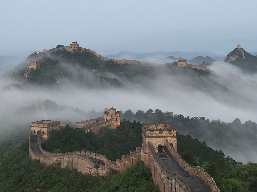 You can't see the Great Wall of China from Space -484536740