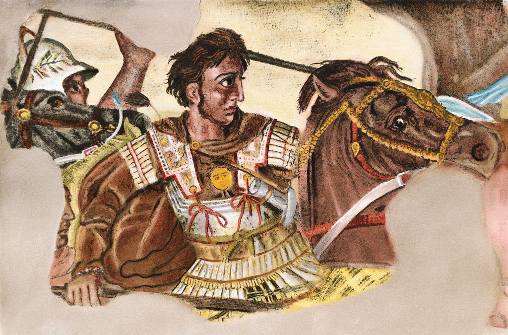 Portrait of Alexander the Great
