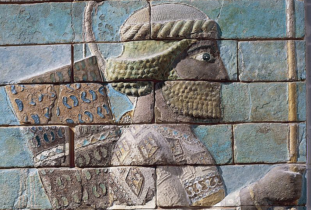 Relief of an archer