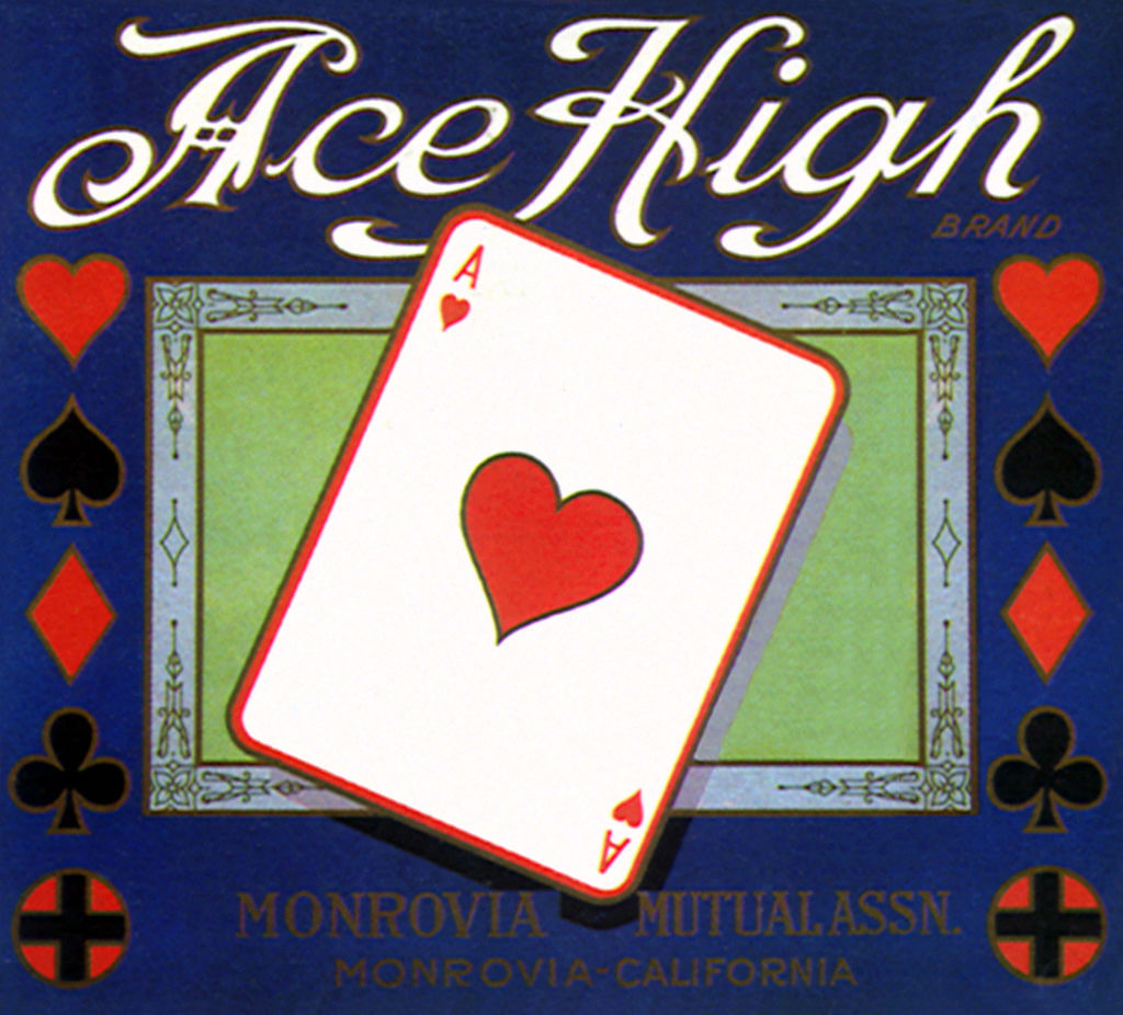 an ace of hearts