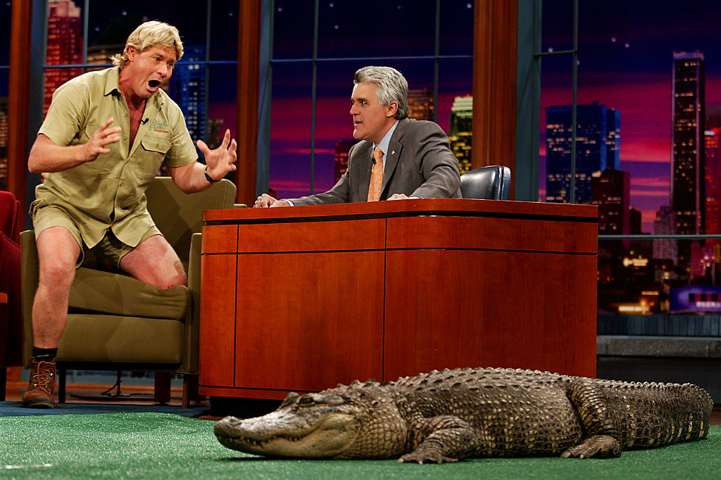With Steve Irwin
