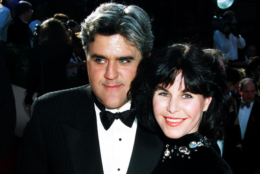 leno with wife