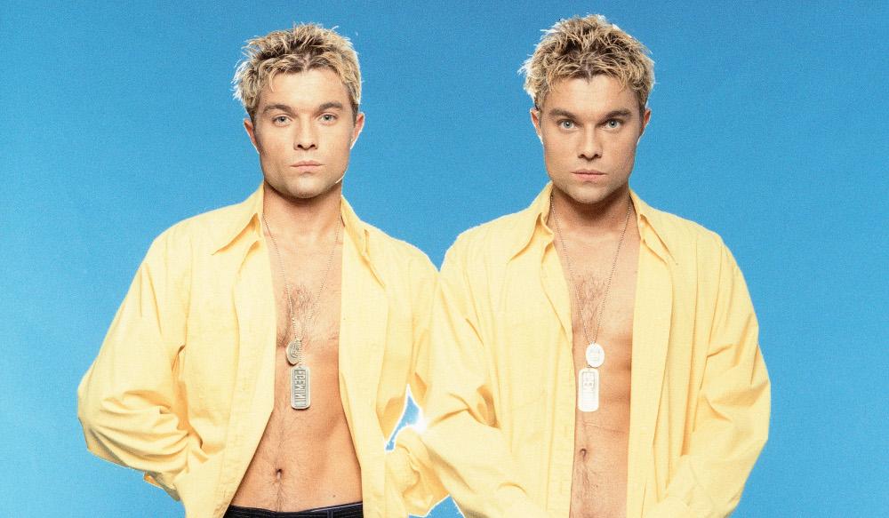 male twin models