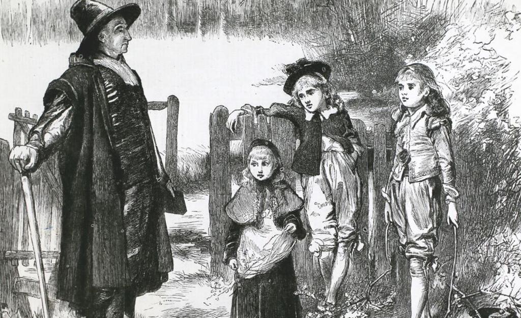 Children rebuked for picking holly