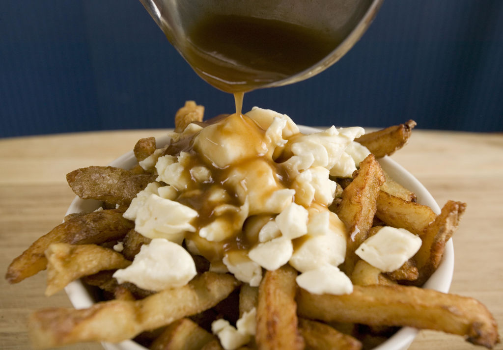 poutine with gravy