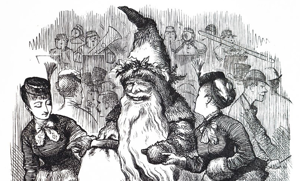 Drawing of Father Christmas
