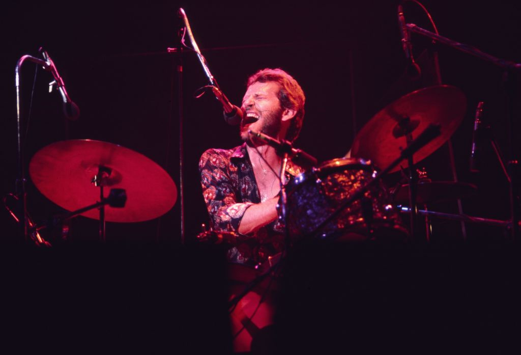 levon helm performing on stage