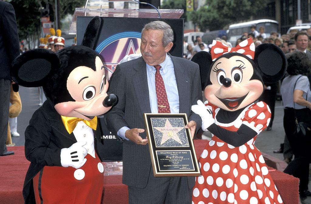 Mickey and Minnie with Walt Disney