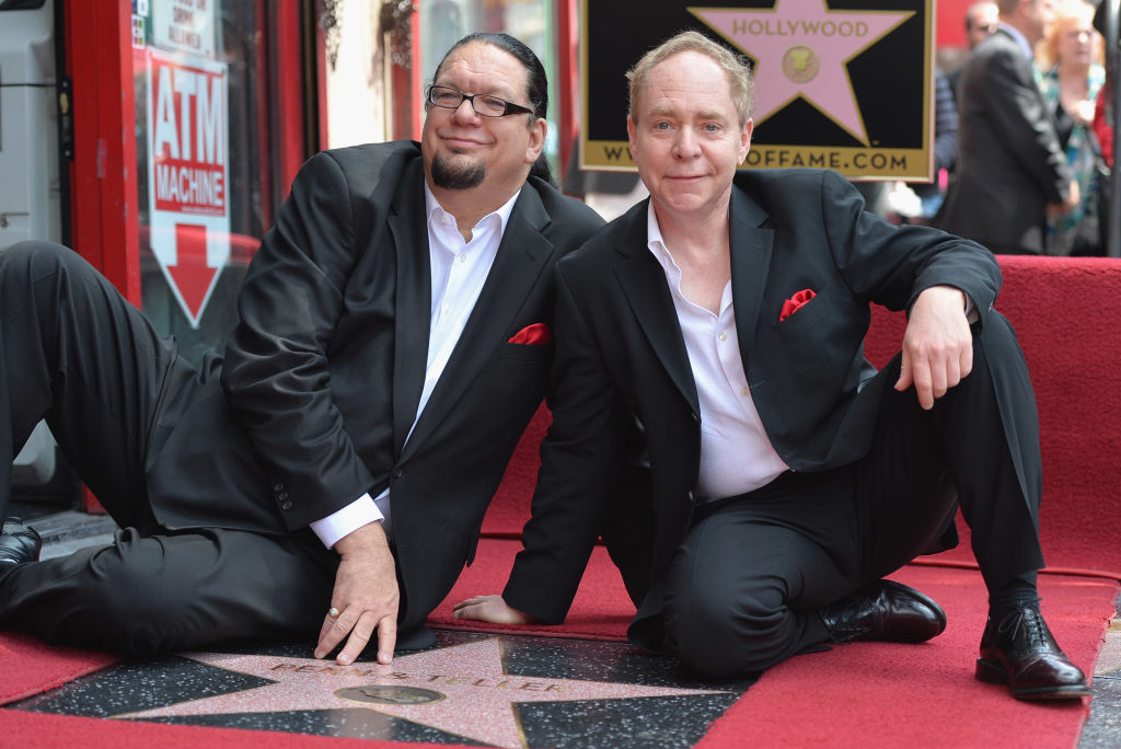 Magicians Penn and Teller