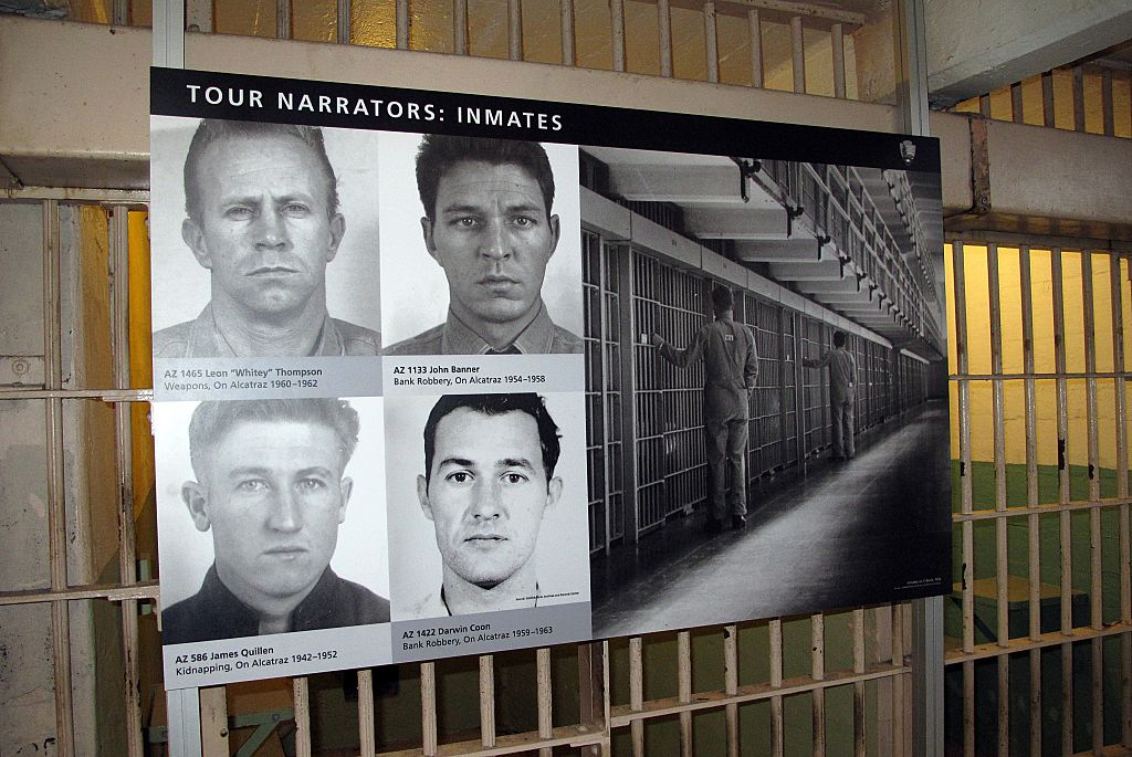 Defiant Criminals were sent to Alcatraz
