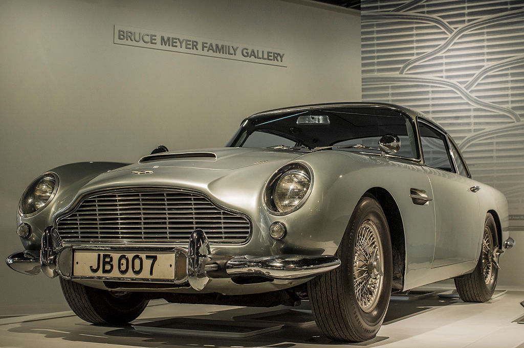 James Bond Added To The Aston Martin Mystique