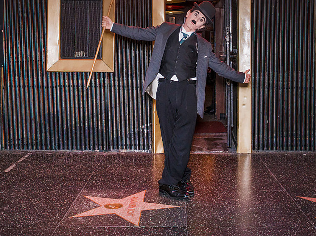 Charlie Chaplin on the Walk of Fame