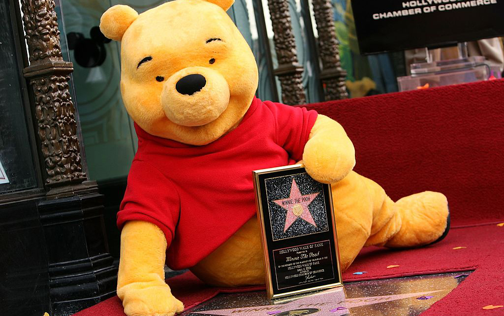 Winnie the Pooh and his star