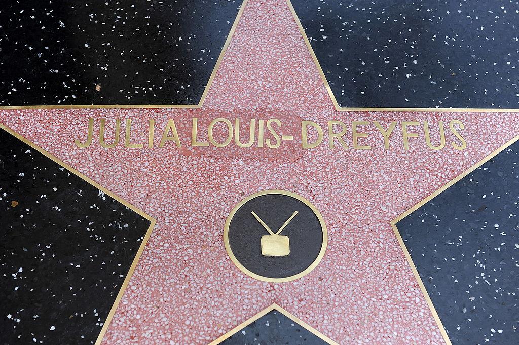 Julia Louis-Dreyfus' star