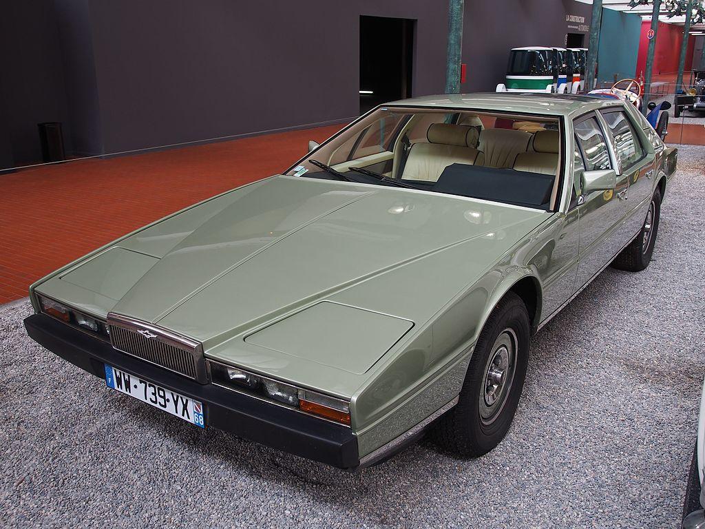 The Aston Martin Lagonda Became One Of Its Longest-Running Models