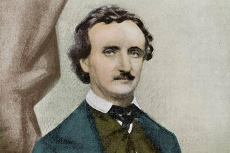 Painting of Poe