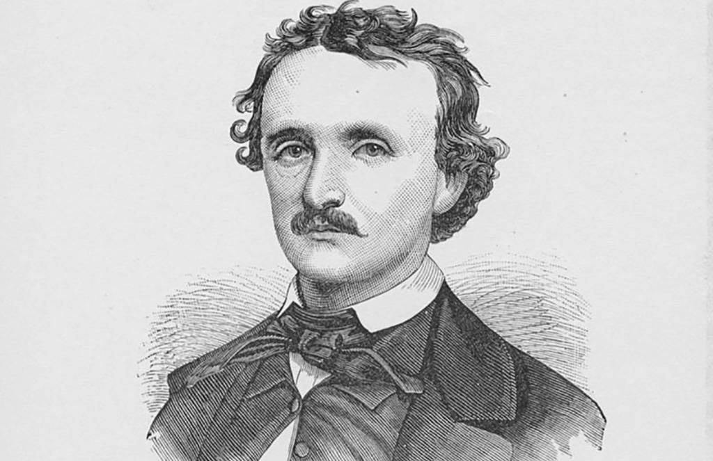 Drawing of Poe