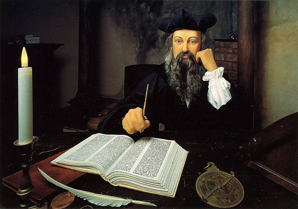 Painting of Nostradamus