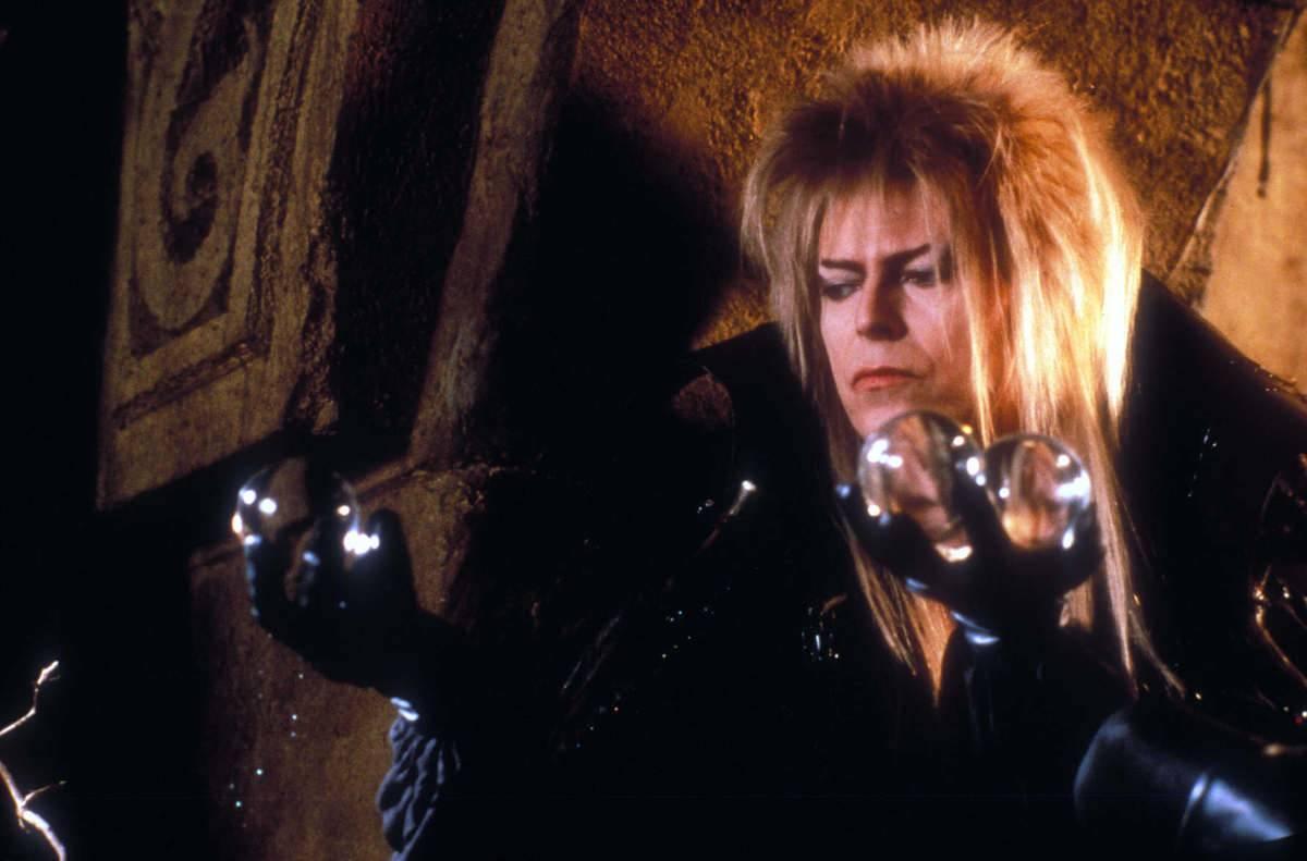 David Bowie will balls