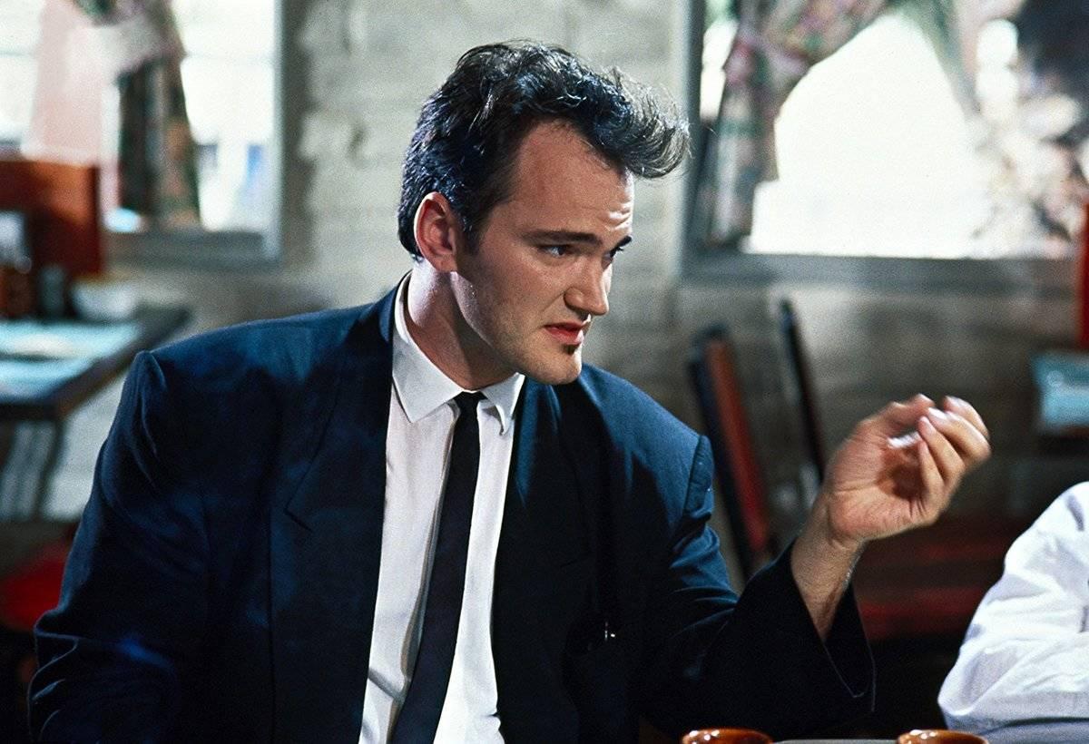 Tarantino as Mr. Brown