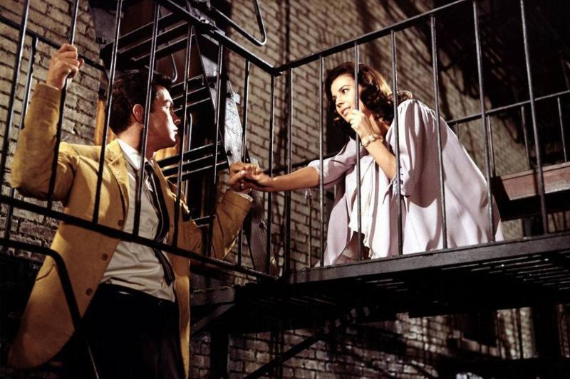Maria and Tony on a balcony