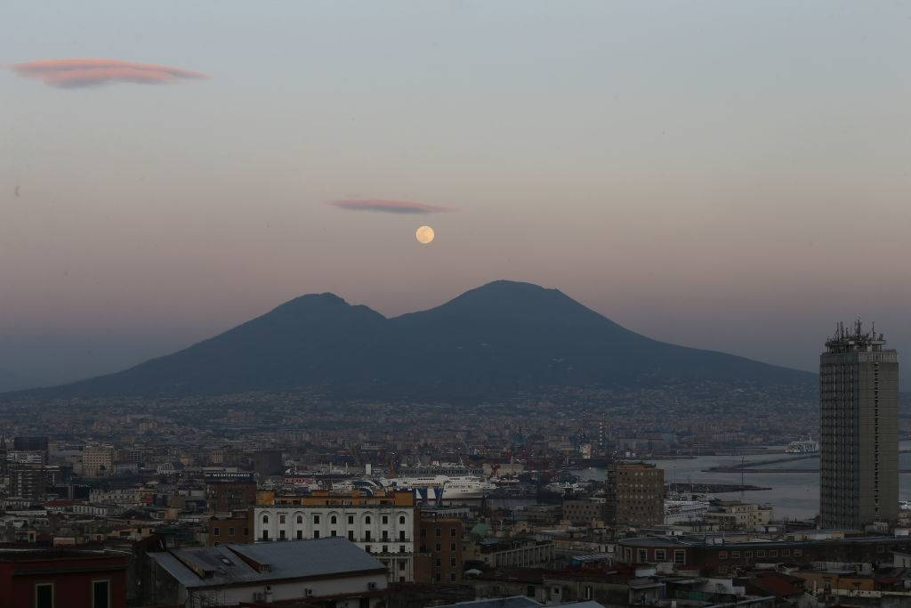 Picture of Mount Vesuvius