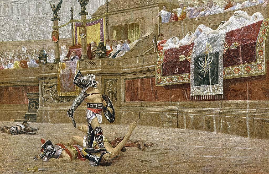 Murmullo gladiator