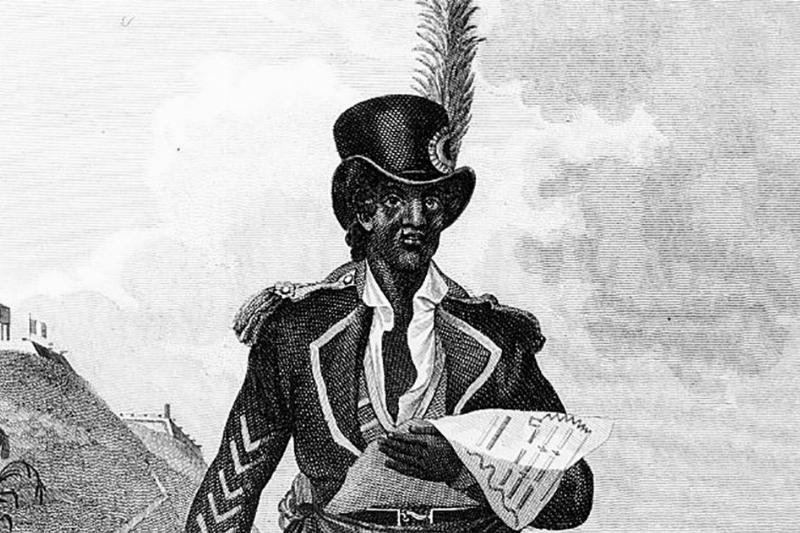 Drawing of Louverture