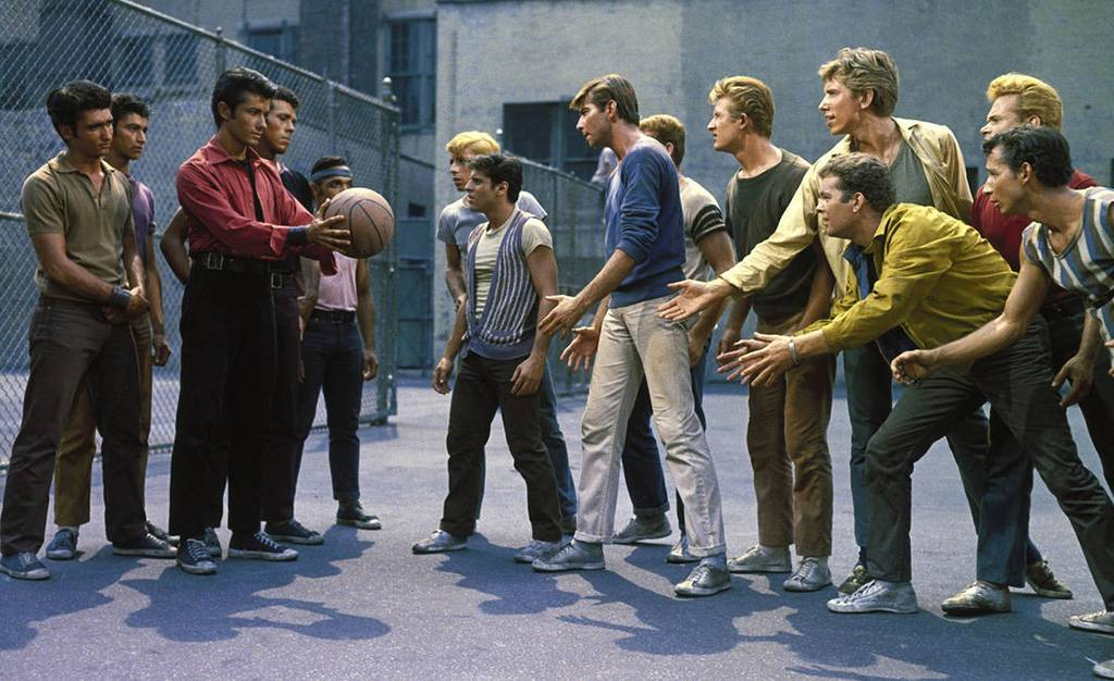 Gangs on the basketball court