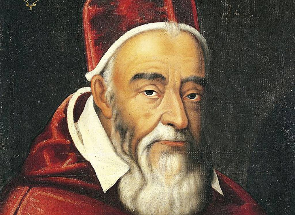 Painting of pope