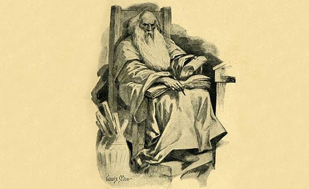 Drawing of Grammaticus