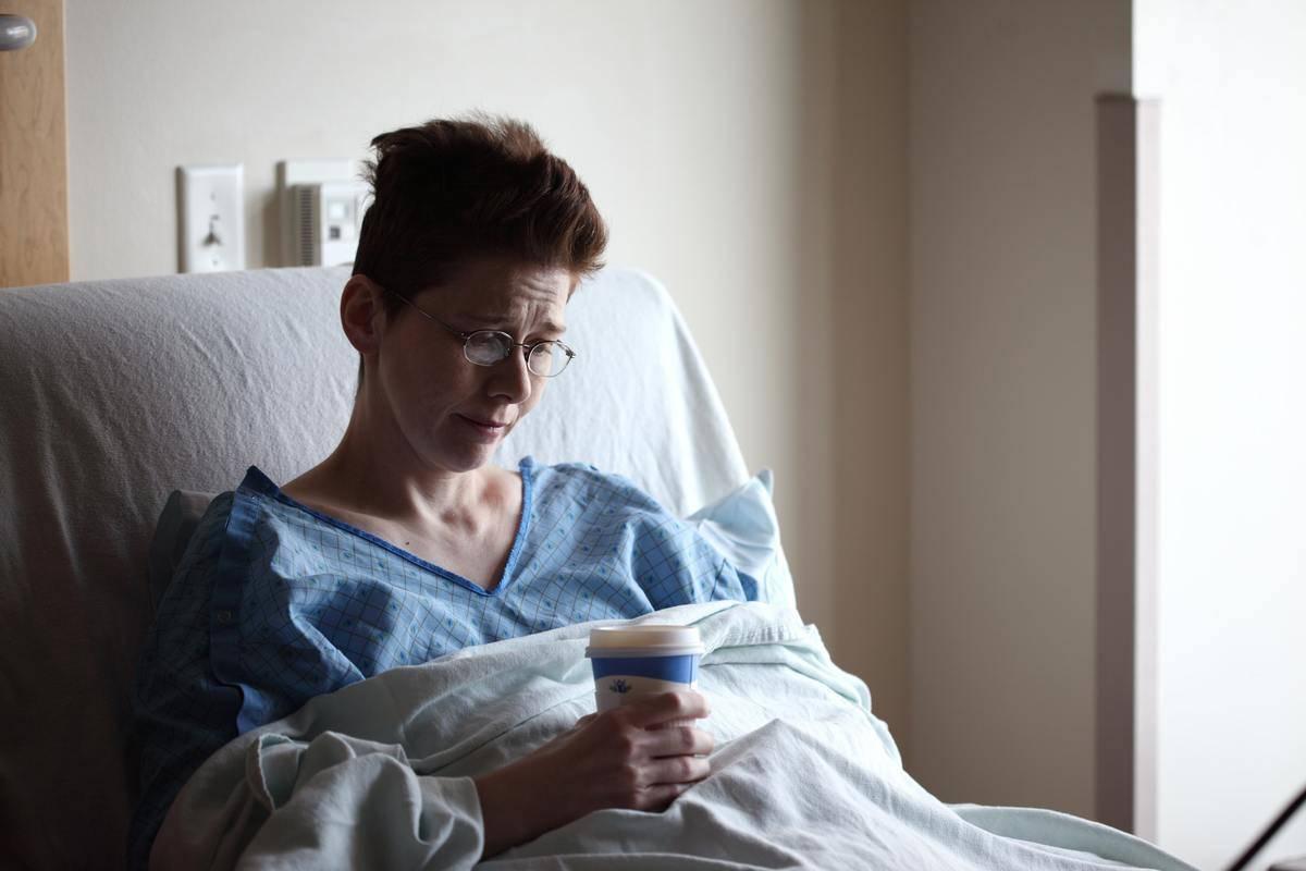 hospital woman