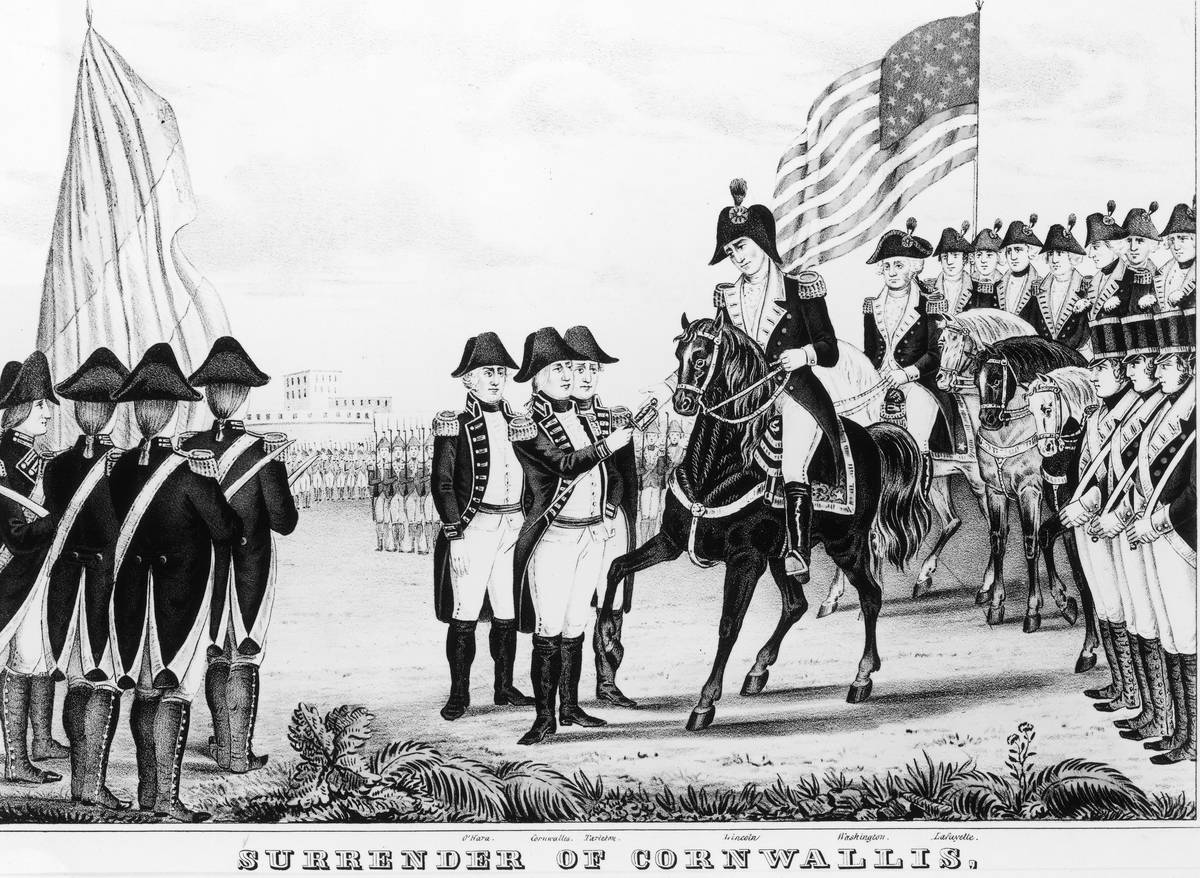 British soldiers are depicted in this illustration.