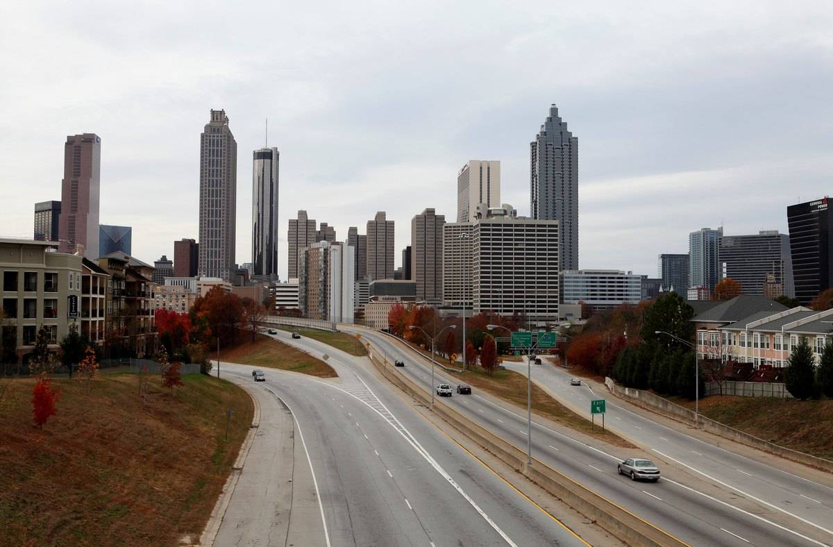 Atlanta Cityscapes And City Views