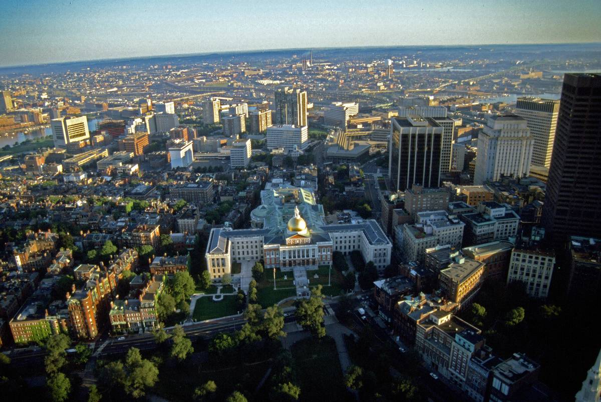 Beacon Hill & Massachusetts State House