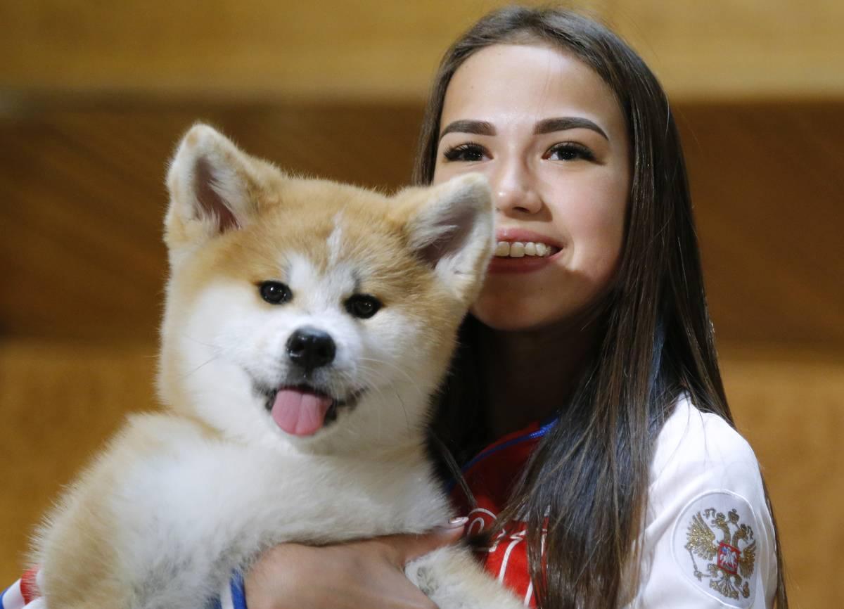TOPSHOT-RUSSIA-JAPAN-DIPLOMACY-ANIMALS-OFFBEAT