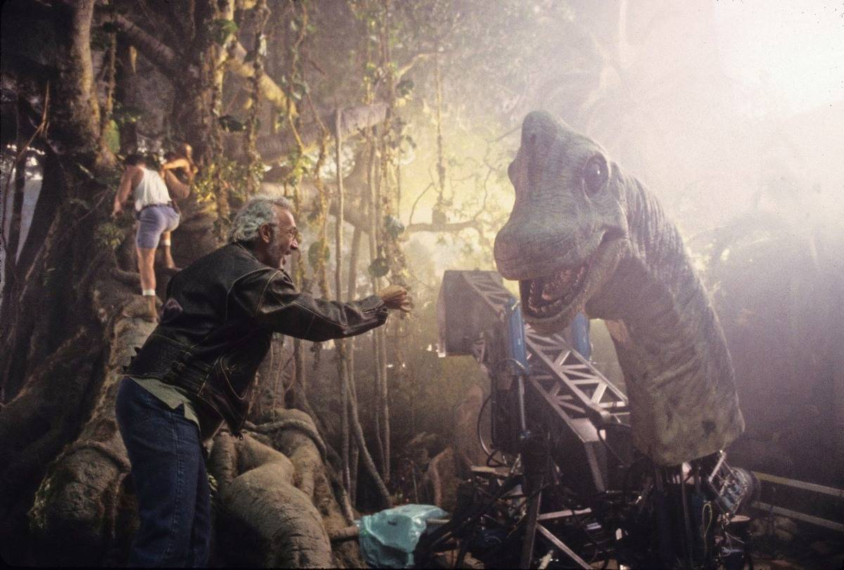 A Dino Head On A Stick Was Used In Certain Scenes