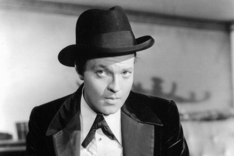 Welles in Citizen Kane