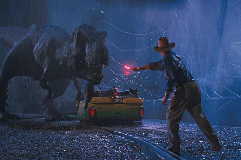 Sam Neill Was Accidently Burned By The Flare