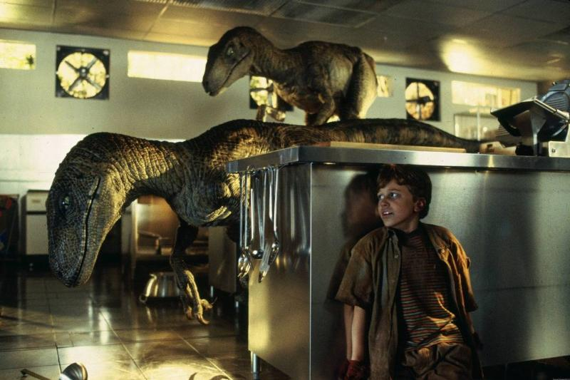 The Raptors Are Just The Special Effects Team In Costumes