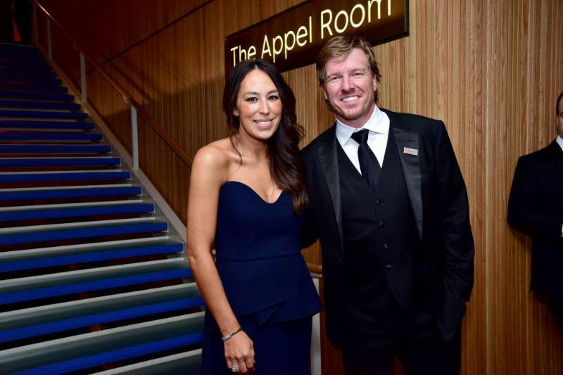 Joanna Gaines and Chip Gaines attend the Time 100 Gala 2019