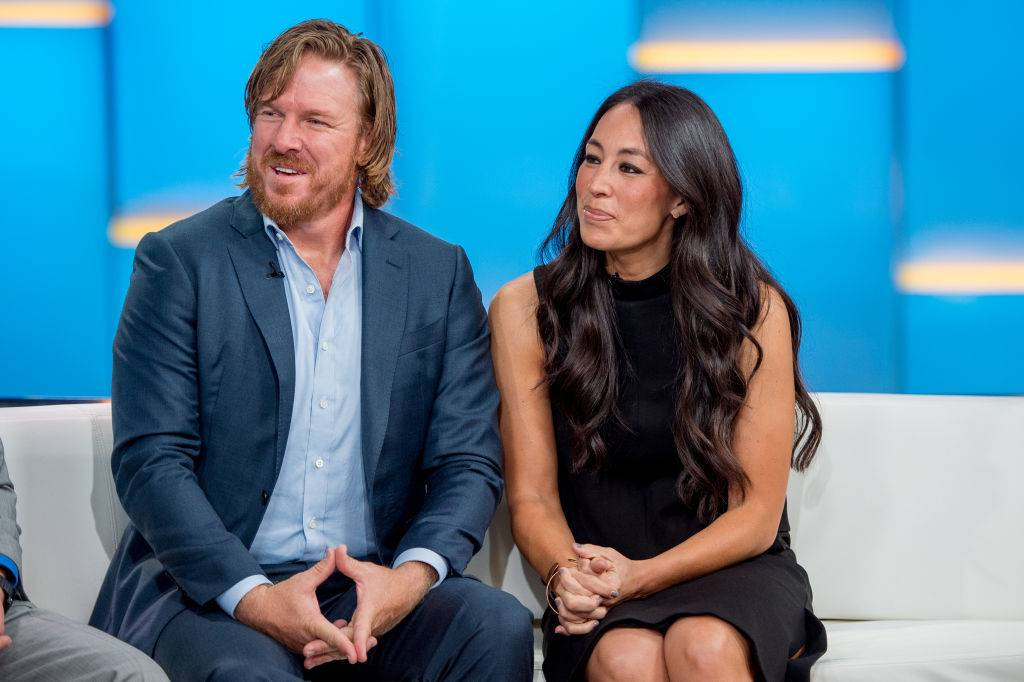 Chip and Joanna Gaines during an interview