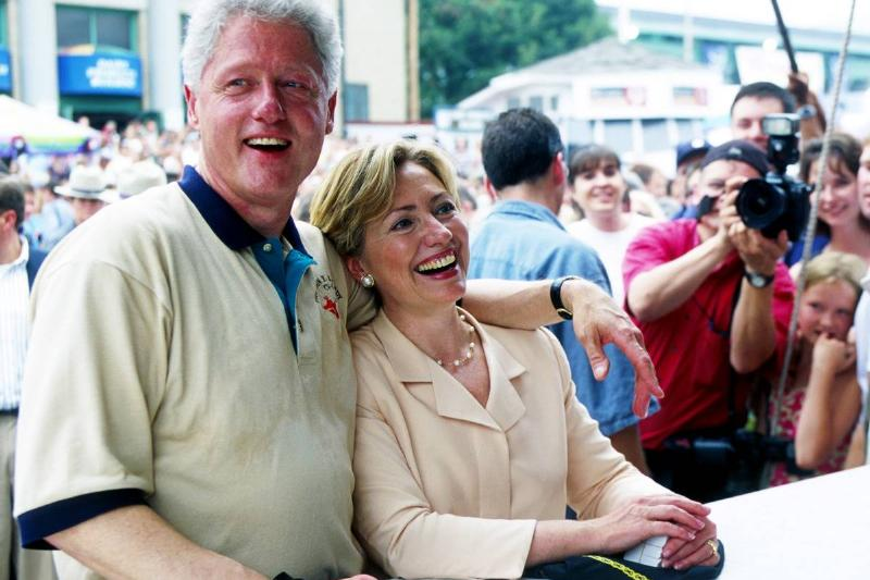 President and Mrs. Clinton Attend New York State Fair
