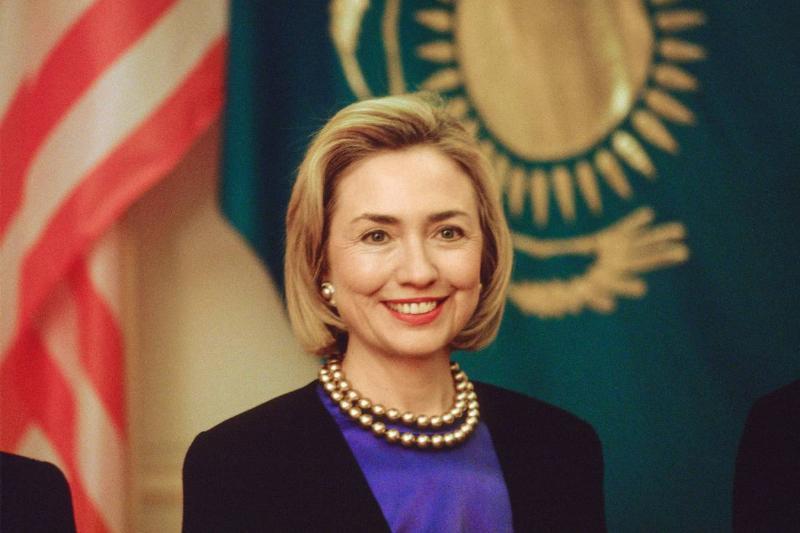 Hillary Clinton In Kazakhstan