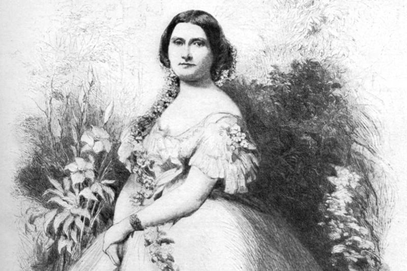 Harriet Lane (1830-1903), 19th century (1908).