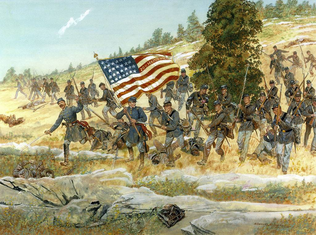 Picture of Union soldiers